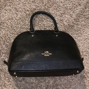 Small Black Coach Bag